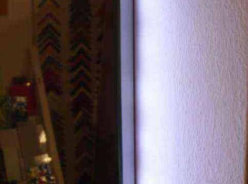 Specchio decorato con luce - Dettaglio